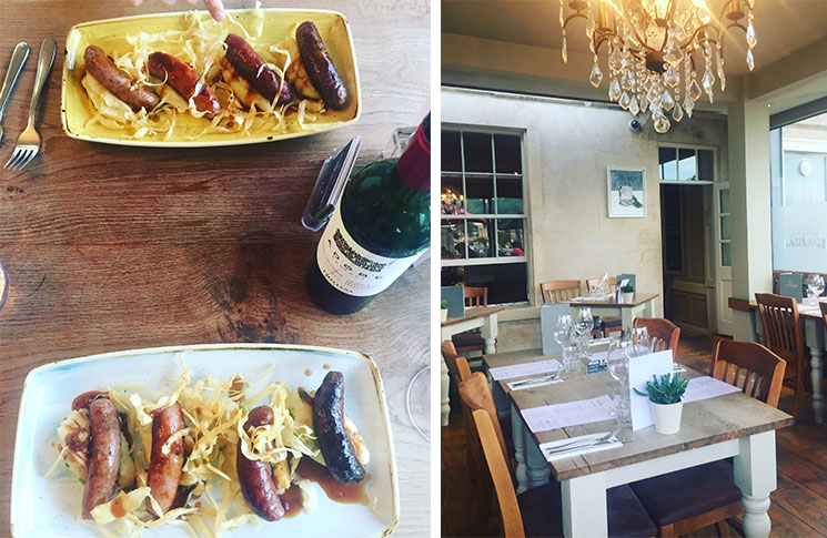 Get stuck in at The Clifton Sausage