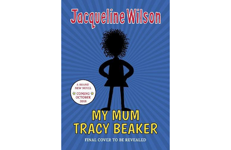 Teaser cover for 'My Mum Tracy Beaker' by Jacqueline Wilson