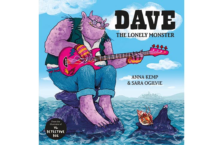 'Dave the Lonely Monster' book by Anna Kemp