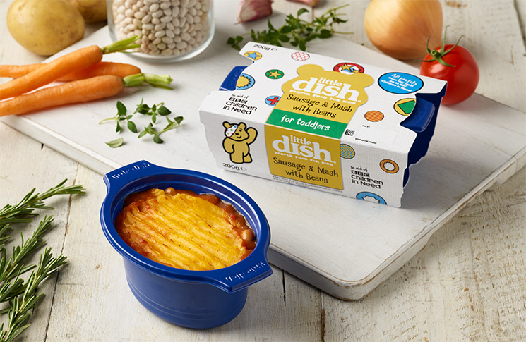 Winner of best children's food brand, Little Dish