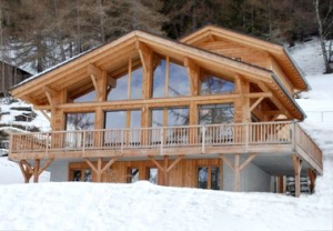 Baby Friendly Boltholes offers hundreds of locations including this chalet in the Swiss Alps