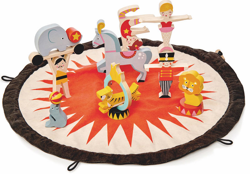 Circus stacker toy