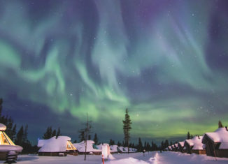 win a family holiday to Lapland
