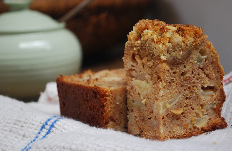 Apple And Pear Crumble Cake Without Ground Almonds