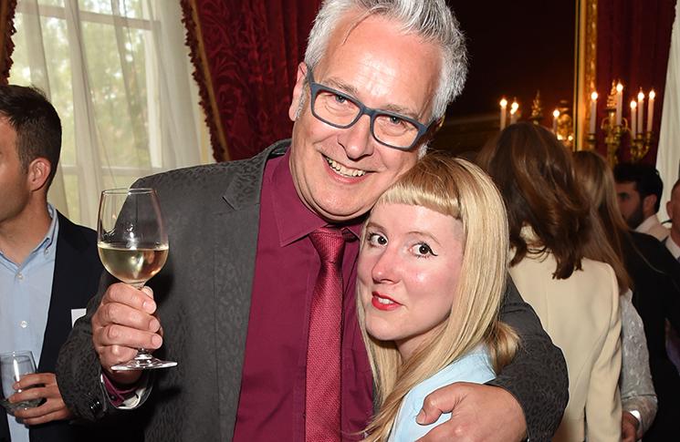 John Dougherty and Laura Hughes at Oscar's Book Prize