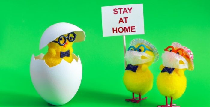 Easter stay at home