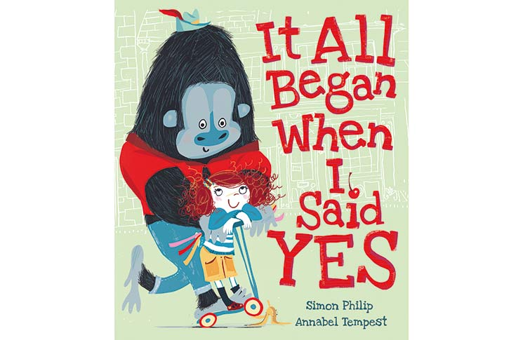 'It All Began When I Said Yes' book by Simon Philip