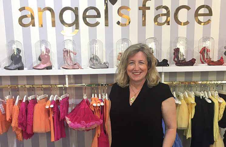 Keenly launched Angel's Face in 2007, offering up gorgeous girlswear and, of course, those iconic tutus
