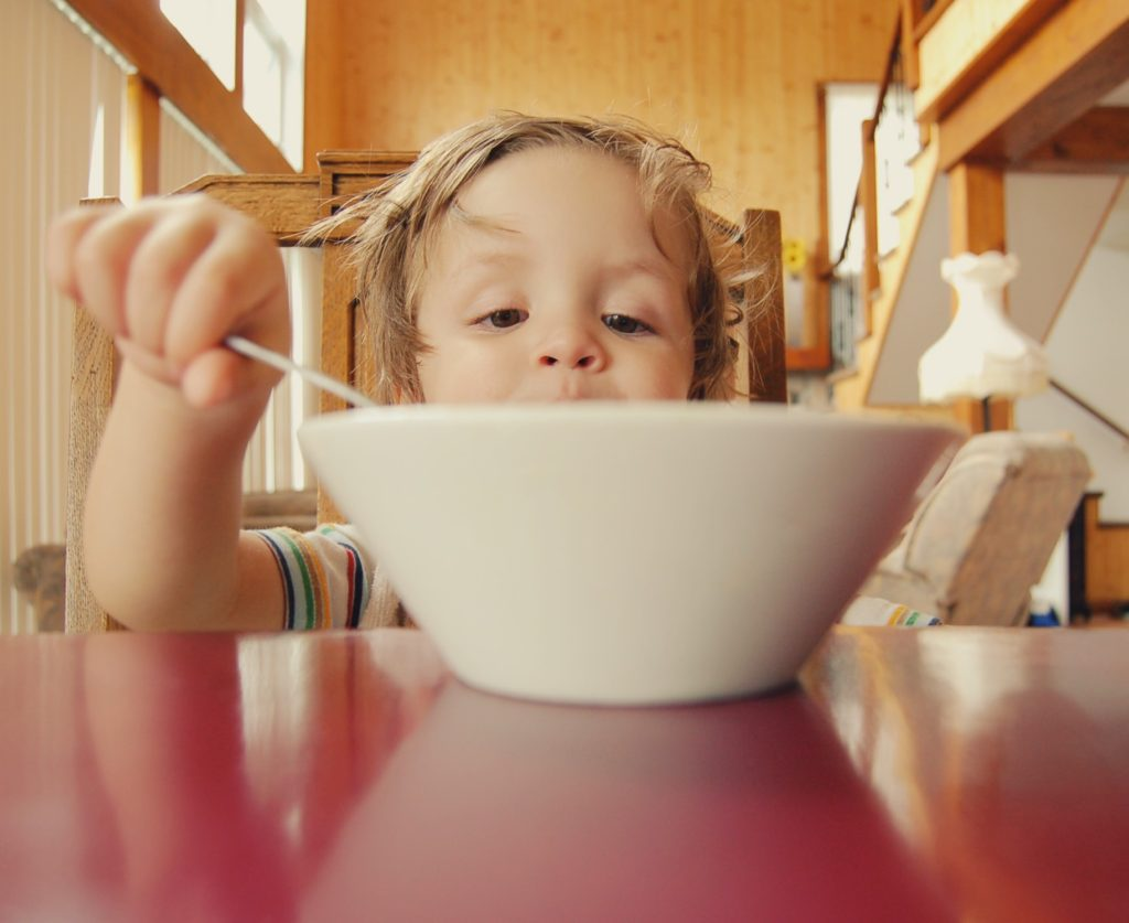 Kids skipping breakfast sugary cereal