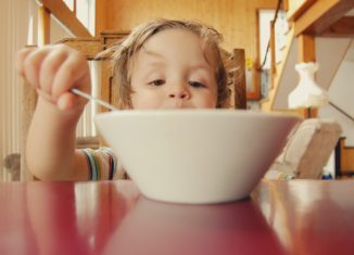 Kids skipping breakfast ugary cereal