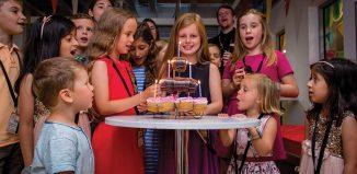 Kidzania London children's birthday party
