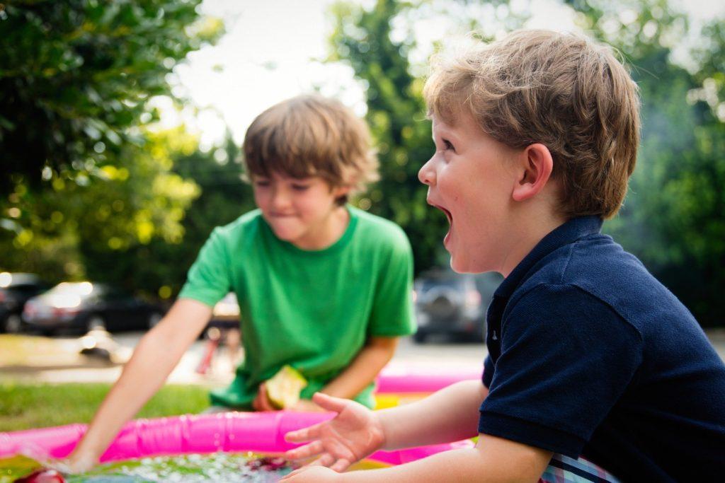 Little London turn garden into playground