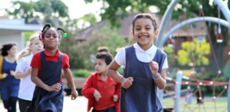 Lowther Primary School find15 start rite daily mile
