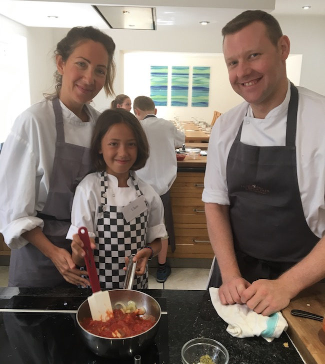 Lucknam Park cookery course