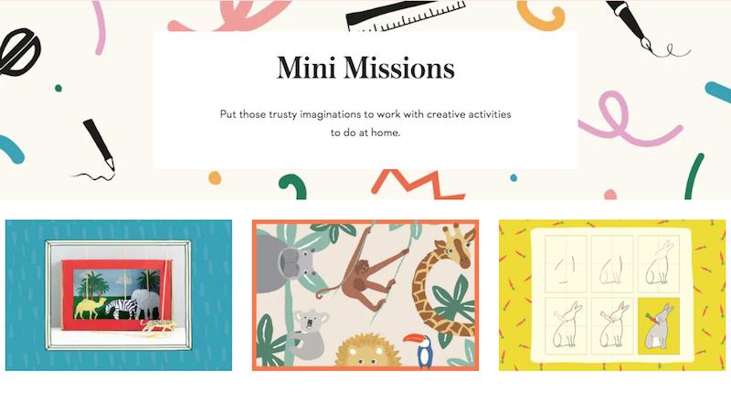 Mini Boden Mini Missions