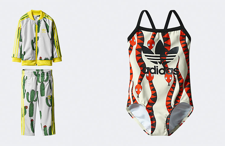Tracksuit, £56.95; Swimsuit, £27.95