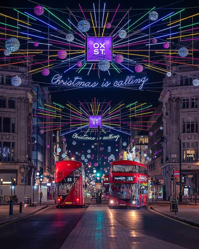 Christmas In London.Christmas Lights In London The Best Of 2018 Little London