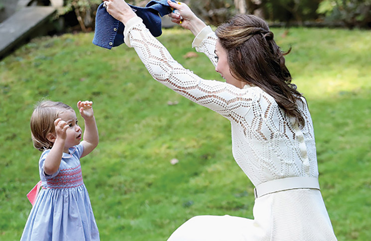 The tot made an appearance during the Royal Tour of Canada in an adorable Pepa & Co dress – Chris Jackson/PA Archive/PA Images