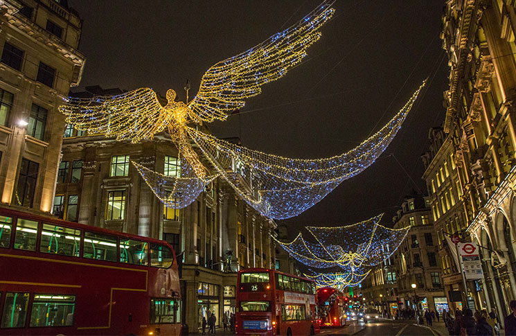 Christmas on Regent Street