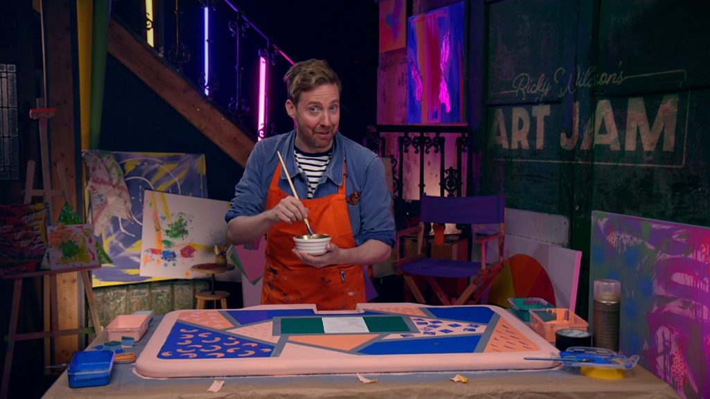 Ricky-Wilsons-Art-Jam-cbbc-paintbrush