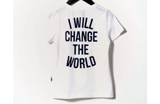 I Will Change the World Someday Soon t-shirt