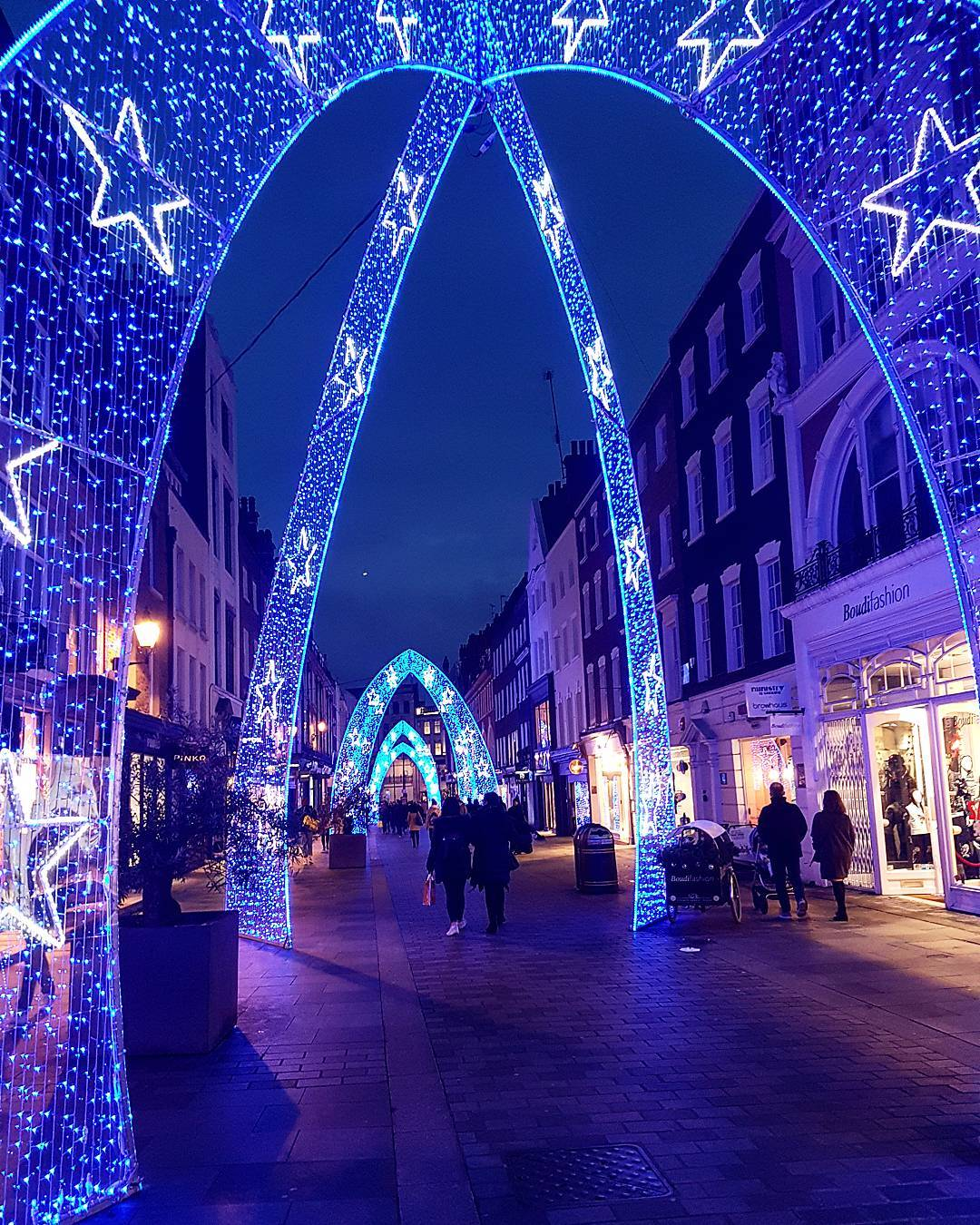 South Molton Street Christmas lights