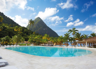 Sugar Beach St Lucia pool win