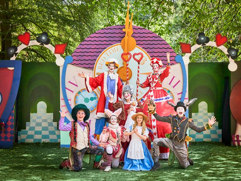 Theatre on Kew Alice in Wonderland Win a family ticket to 'Alice in Wonderland' at Theatre on Kew