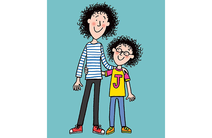 Tracy Beaker and her daughter Jess