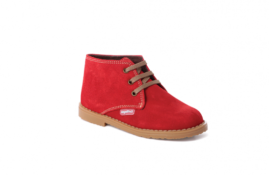 red laced desert boots
