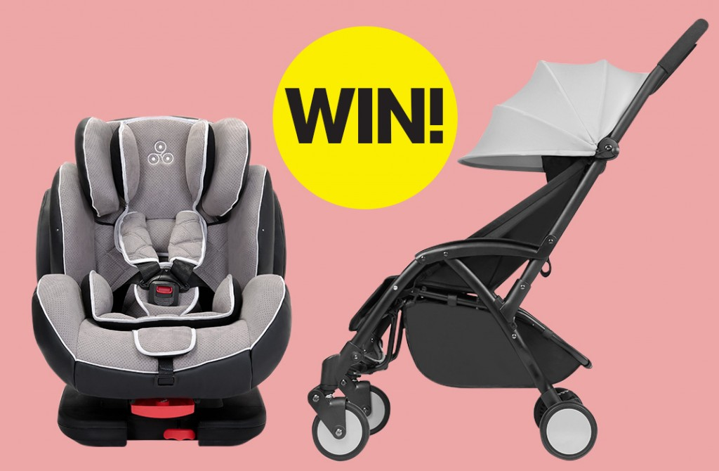 Win a stroller and car seat from Ickle Bubba
