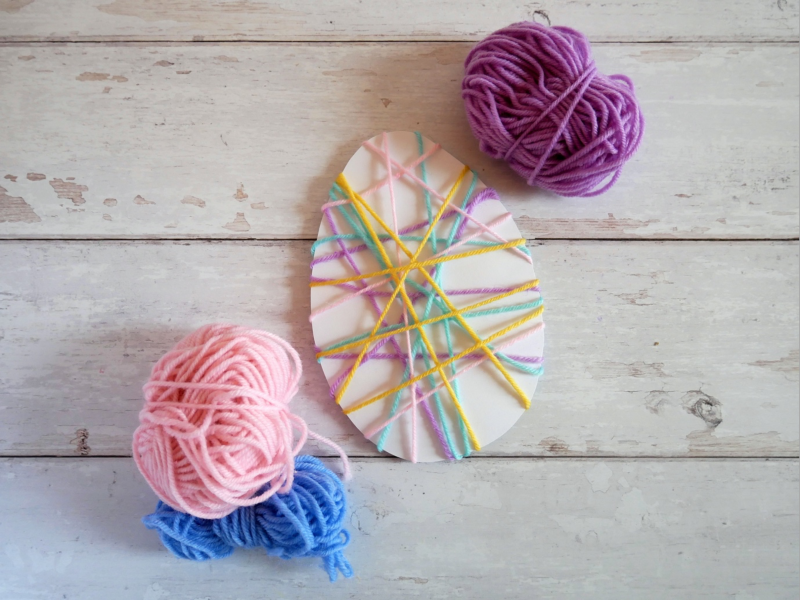 easter-crafts-string-eggs
