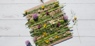 flower-weaving-leo-bamford-nanny-anita-summer-crafts