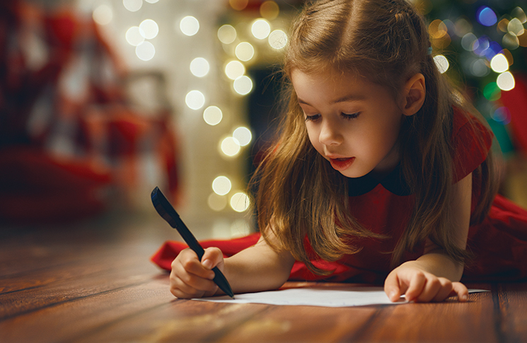 How to get the kids writing thank you letters