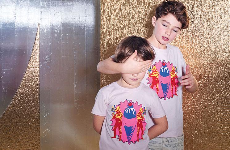 Marlon Richards cotton t-shirt, £29, No Added Sugar