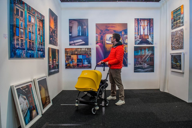 parents-pushchairs-affordable-art-fair-london