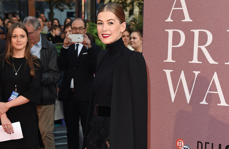 Rosamund Pike on the red carpet