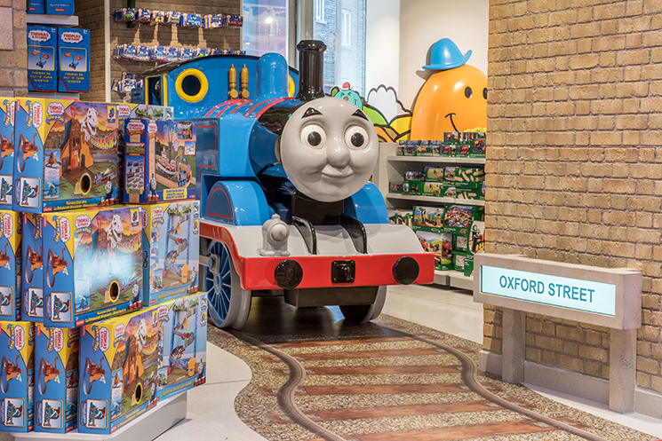 Its Magical Toys : News the toy store brings its magic to london little
