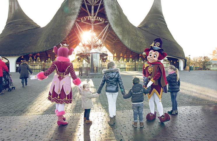 Efteling Theme Park Resort entrance